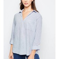 grey-linen-blend-overhead-shirt-new-look