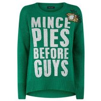 green-mince-pies-before-guys-glitter-christmas-jumper-new-look