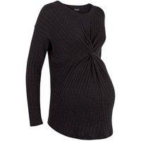 maternity-black-rib-twist-front-top-new-look