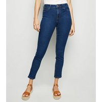 Blue Rinse Wash Skinny Jenna Jeans New Look