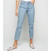 Pale Blue Relaxed Skinny Leyla Jeans New Look