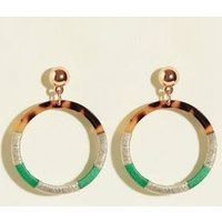 WANTED Multicoloured Thread Wrap Hoops New Look