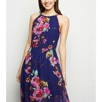 Blue-Vanilla-Blue-Floral-Halterneck-Maxi-Dress-New-Look