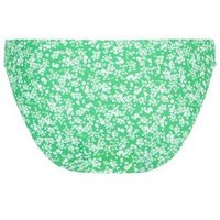 Green Ditsy Floral Bikini Bottoms New Look