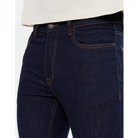 Navy Rinse Wash Skinny Jeans New Look