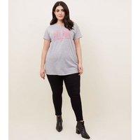 curves-grey-live-more-neon-slogan-tshirt-new-look