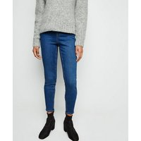 Tall Blue Mid Wash Jeggings New Look