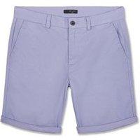 Lilac Chino Shorts New Look