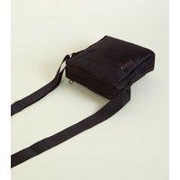 Black Nylon Shoulder Bag New Look