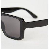 Girls Black Square Frame Sunglasses New Look