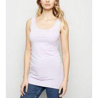 Lilac Scoop Neck Longline Vest Top New Look