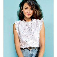white-cutwork-frill-trim-blouse-new-look