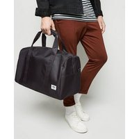 Mens Black Ripstop Holdall Bag New Look