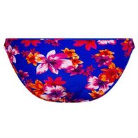 Blue Tropical Floral Hipster Bikini Bottoms New Look