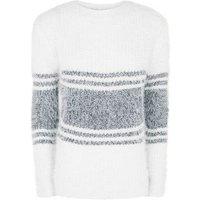 blue-vanilla-navy-stripe-fluffy-jumper-new-look