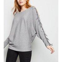 blue-vanilla-grey-sequin-tassel-sleeve-jumper-new-look