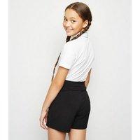 Girls Black Skort New Look