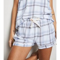 White Check Cami and Shorts Pyjama Set New Look