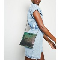 Multicoloured Chainmail Cross Body Bag New Look