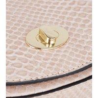 Pink Faux Snake Curved Bum Bag New Look Vegan