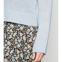 Tall Pale Blue Crew Neck Jumper New Look