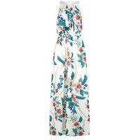 Mela White Tropical Floral Maxi Dress New Look
