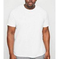 Plus Size White Crew Neck T-Shirt New Look