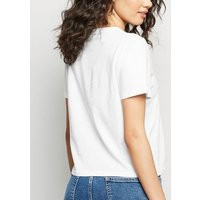 Petite White Kind Slogan T-Shirt New Look