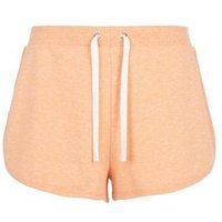 Coral Marl Runner Shorts New Look
