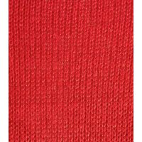 Red Crew Neck Longline Knit Jumper New Look