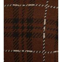 Brown Check Long Sleeve Jumper New Look