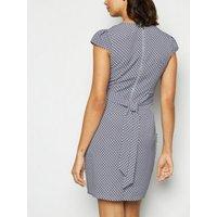 Blue-Vanilla-Blue-Geometric-Tulip-Dress-New-Look