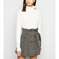 Pink-Vanilla-Black-Check-Tie-Waist-Skirt-New-Look