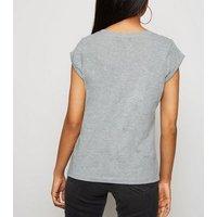 Petite Grey Riverdale South Side Slogan T-Shirt New Look