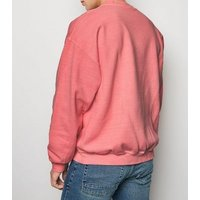 Mid Pink If You Know You Know Slogan Sweatshirt New Look