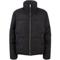 Black Boxy Puffer Jacket New Look