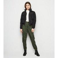 Girls Khaki Shell Cargo Trousers New Look