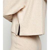 Cream Brushed Jersey Pyjama Hoodie New Look