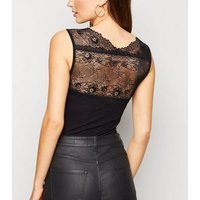 JDY Black Lace Bodysuit New Look