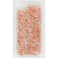 Rose Gold and Silver Glitter Case for iPhone 6/6s/7/8 New Look