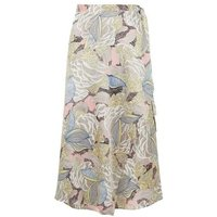Urban Bliss Multicoloured Paisley Wrap Skirt New Look