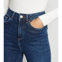 Blue Rinse Wash Super Skinny Hallie Jeans New Look