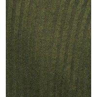 Khaki Brushed Rib Knit Batwing Jumper New Look