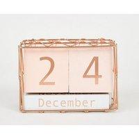 Pale Pink Calendar Blocks New Look