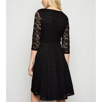 Mela Black Lace Mini Dress New Look