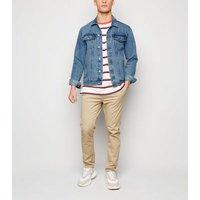 Pale Blue Western Denim Jacket New Look