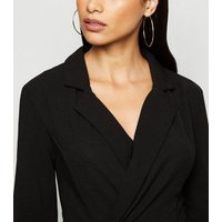 AX Paris Black Blazer Playsuit New Look