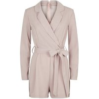 AX Paris Pink Blazer Playsuit New Look