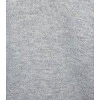 Pale Grey Exposed Seam Jumper New Look