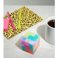 Multicoloured Mindfulness Cube New Look